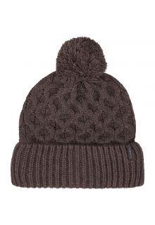 O'Neill---Mütze-für-Damen---Nora-Wool---Schwarzgrau