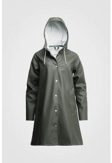Stutterheim---Regenjacke-für-Frauen---Mosebacke---Grün