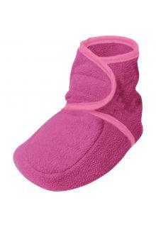 Playshoes---Fleece-Schuhe-für-Kinder---Rosa