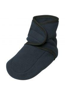 Playshoes---Fleece-Schuhe-für-Kinder---Marine
