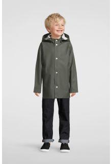 Stutterheim---Regenjacke-für-Kinder---Mini-Stockholm---Grün