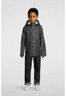 Stutterheim---Regenjacke-für-Kinder---Mini-Stockholm---Schwarz