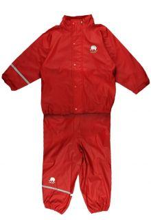 CeLaVi---Regenanzug-für-Kinder---Rot