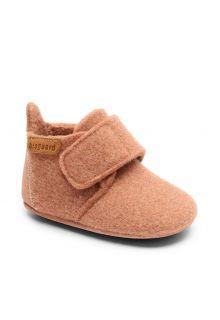 Bisgaard---Pantoffeln-für-Babys---Baby-wool---Rosa