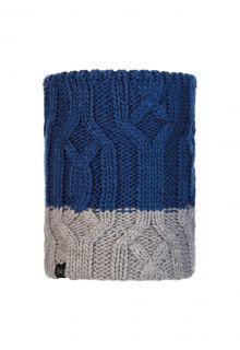 Buff---Strick-Rundschal-Polar-Ganbat-für-Kinder---Blau/Grau