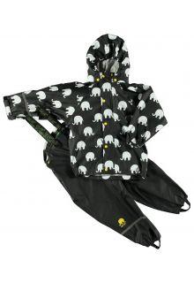 CeLaVi---Regenanzug-mit-Elefantenaufdruck---Gelb