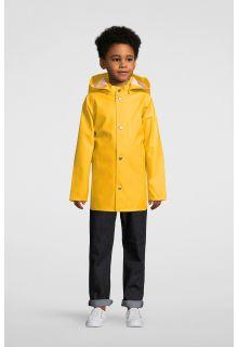 Stutterheim---Regenjacke-für-Kinder---Mini-Stockholm---Gelb