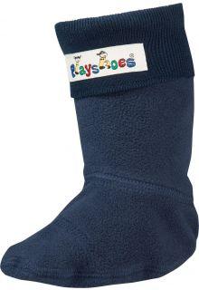 Playshoes---Fleecesocken-für-Gummistiefel---Schwarz