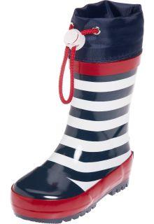 Playshoes---Gummistiefel-Marine---Dunkelblau/weiß
