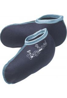 Playshoes---Kurze-Fleecesocken-für-Gummistiefel---Dunkelblau