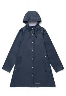 Stutterheim---Leichter-Regenmantel-für-Damen---Mosebacke-LW---Marineblau