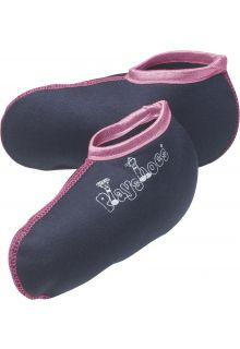 Playshoes---Kurze-Fleecesocken-für-Gummistiefel---Rosa