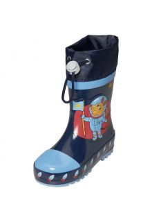 Playshoes---Gummistiefel-für-Kinder---Weltraummaus---Marine