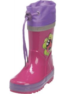 Playshoes---Gummistiefel-Marienkäfer---Pink
