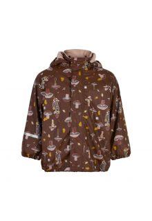 CeLaVi---Regenjacke-mit-Fleece-für-Kinder---Herbst---Rocky-Road