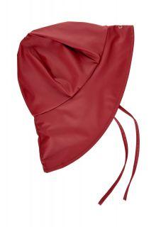 CeLaVi---Regenkappe-mit-Fleece-für-Kinder---Solid---Dunkelrot