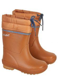CeLaVi---Schneestiefel-mit-Fleece-Futter-für-Kinder---Thermal---Kürbis
