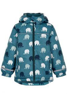 CeLaVi---Winterjacke-für-Jungen---Elefant---Eisblau
