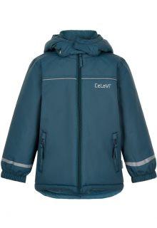 CeLaVi---Winterjacke-für-Kinder---Solid---Eisblau