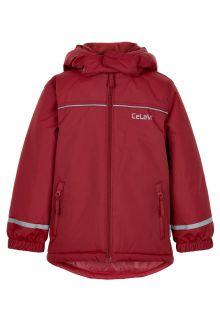 CeLaVi---Winterjacke-für-Kinder---Solid---Dunkelrot