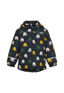 CeLaVi---Winterjacke-für-Kinder---Elefant---Blaugraphit