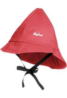 Playshoes---Regenmütze-mit-Bindebändern---Rot