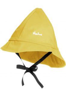 Playshoes---Regenmütze-mit-Bindebändern---Gelb
