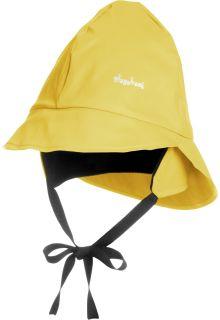 Playshoes---Regenmütze-mit-Fleecefutter---Gelb