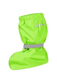 Playshoes---Regenstiefel-mit-Fleece-Futter-für-Kinder---Neongrün