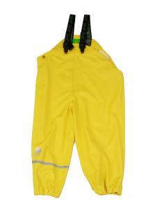 CeLaVi---Regen-Latzhose-für-Kinder---Gelb