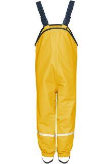 Playshoes---Regenlatzhose-mit-Fleece-Futter---Gelb