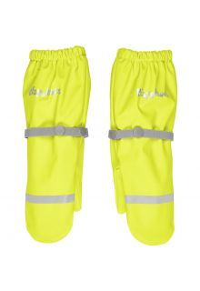 Playshoes---Regenhandschuhe-mit-Fleece-Futter-für-Kinder---Neongelb