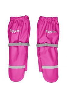 Playshoes---Regenhandschuhe-mit-Fleece-Futter-für-Kinder---Neon-Rosa