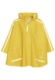 Playshoes---Raincape-mit-extra-langem-Rücken-für-Kinder---Gelb