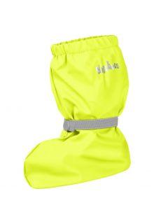 Playshoes---Regenstiefel-mit-Fleece-Futter-für-Kinder---Neongelb