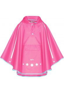 Playshoes---Regenponcho-für-Kinder---Faltbar---Rosa