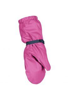 Playshoes---Regenhandschuhe-mit-Fleece-Futter-für-Kinder---Rosa