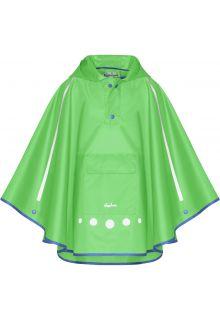 Playshoes---Regenponcho-für-Kinder---Faltbar---Grün