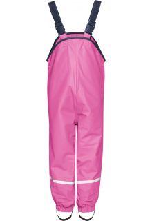 Playshoes---Regenlatzhose-mit-Fleece-Futter---Pink