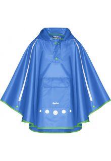 Playshoes---Regenponcho-für-Kinder---Faltbar---Blau