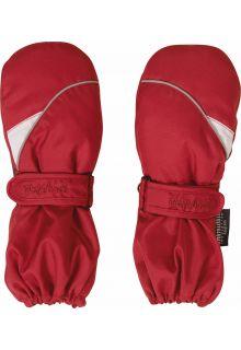 Playshoes---Winter-Fäustlinge-mit-Klettverschluss---Rot