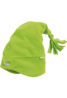 Playshoes---Fleece-Mütze-mit-Reflektor---Grün