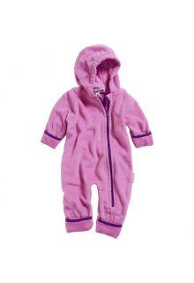 Playshoes---Fleece-Overall-in-Kontrastfarben-für-Babys---Rosa