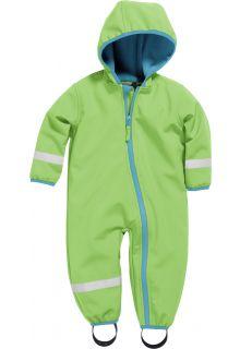 Playshoes---Softshell-Overall-für-Babys-und-Kleinkinder---Grün