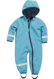 Playshoes---Softshell-Overall-für-Babys-und-Kleinkinder---Aquablau