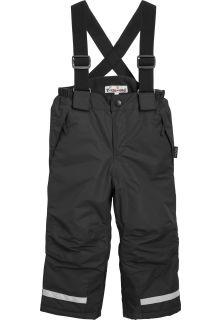 Playshoes - Schnee-Hose mit Hosenträgern - Schwarz - Vorderseite