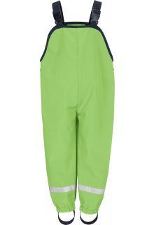 Playshoes---Softshell-Latzhose-für-Kinder---Grün