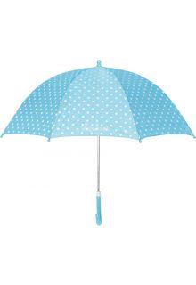 Playshoes---Kinder---Regenschirm---Punkte---Türkis