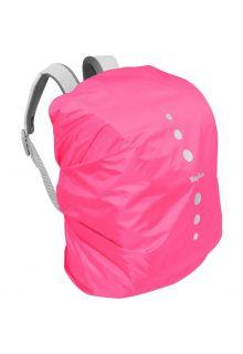 Playshoes---Regenschutz-für-Rucksack---Rosa