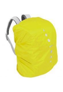 Playshoes---Regenschutz-für-Rucksack---Neongelb